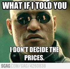 Matrix Prices