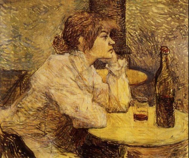 lady drinking